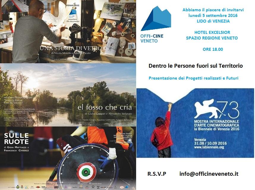 INVITO - 73ma MOSTRA DEL CINEMA - OFFI-CINE VENETO